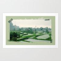 bali Art Prints featuring Bali by Elisabetta