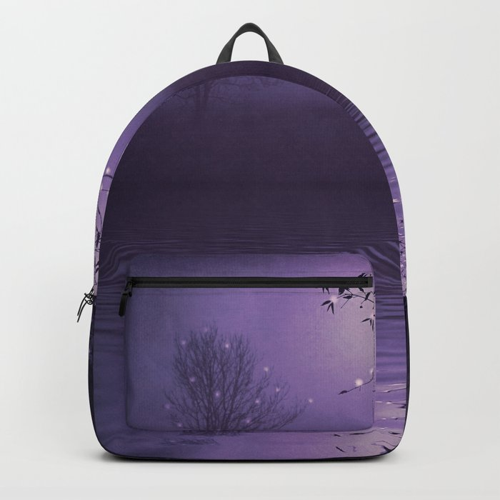 SONG OF THE NIGHTBIRD - LAVENDER Backpack