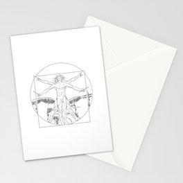 Leonardo da vinci drums Stationery Cards