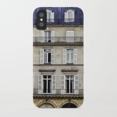 French Architecture Slim Case iPhone X