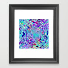 Re-Created  Mosaic No. ELEVEN by Robert S. Lee Framed Art Print