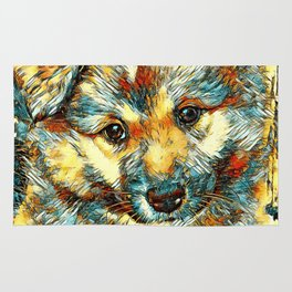 AnimalArt_Dog_20170905_by_JAMColorsSpecial Rug