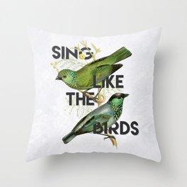 Sing Throw Pillow