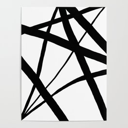 A Harmony of Lines and Shapes Poster