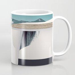 woman portrait /collage 3 Coffee Mug
