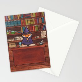 James the Wizard Fox Stationery Cards