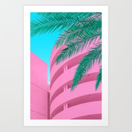 Parking in Style Art Print