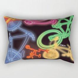 Neon Rectangular Pillow