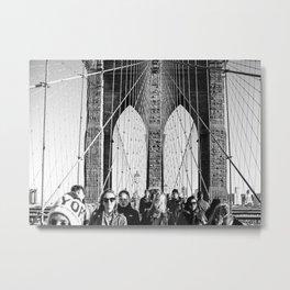 the bridge Metal Print