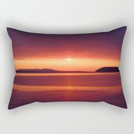 Colorful Sunset Rectangular Pillow