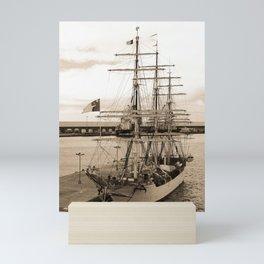 Danish training ship Mini Art Print