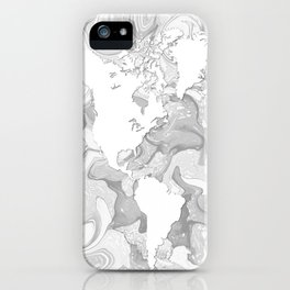 Design 141 World Map iPhone Case