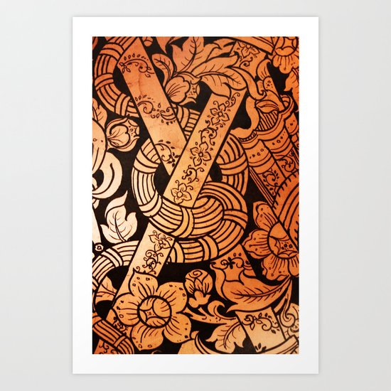 THAILAND PATTERN 3 - For IPhone - Art Print