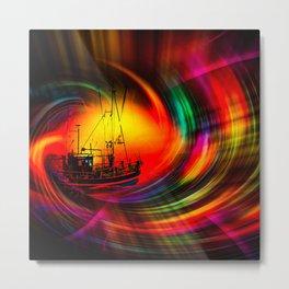 Time- Tunel100 Metal Print