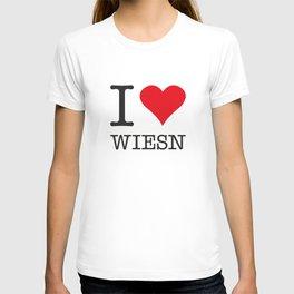 I LOVE WIESN T-shirt