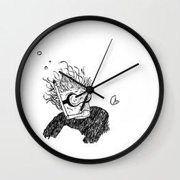 Hugo Lasavanne - N/B Wall Clock