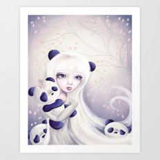 Panda: Protection Series Art Print