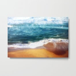 Colourful Seascapes Metal Print