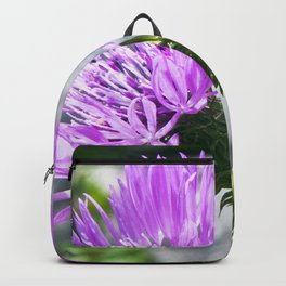 SICILIAN PURPLE THISTLE Backpack