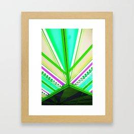 Linear colour  Framed Art Print