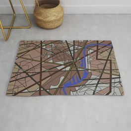 A map Rug
