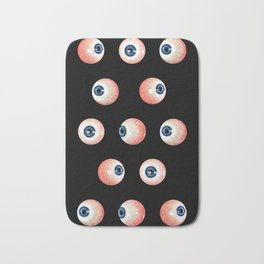 Eye balls Bath Mat