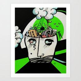 Brainwashing Art Print