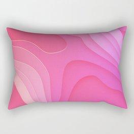Geographic Bubblegum Field Rectangular Pillow