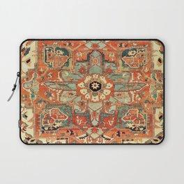 Heriz Vintage Persian Tribal Rug Print Laptop Sleeve