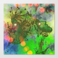 "gemini Canvas Prints featuring "" Gemini "" by shiva camille"
