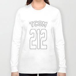 TCOM 212 AREA CODE JERSEY Long Sleeve T-shirt