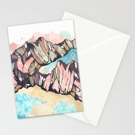 Solitary Beach Stationery Cards