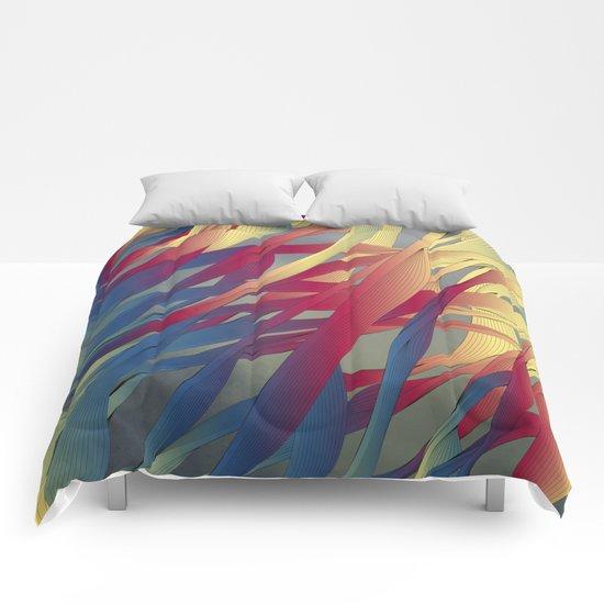 Modern Aquatic Nightsongs Comforters