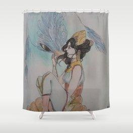 The bird breeder - L'oiselière Shower Curtain