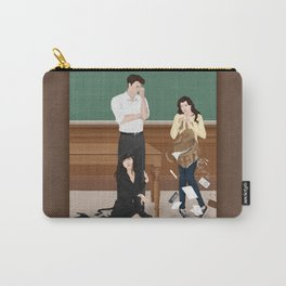 the professor, the pet and the frightened rabbit Carry-All Pouch