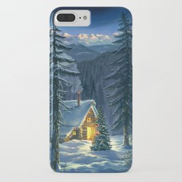Christmas Snow Landscape iPhone Case