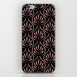 Bohemian Pattern Black iPhone Skin
