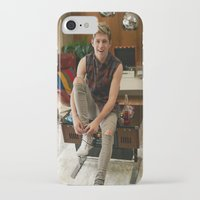 niall horan iPhone & iPod Cases featuring Niall Horan by behindthenoise