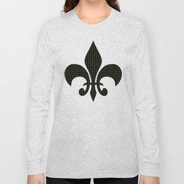 NOLA fleur de lis Long Sleeve T-shirt