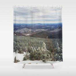 Killington Summit View Shower Curtain