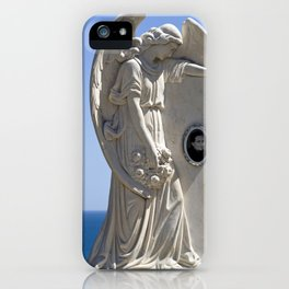 WHITE ANGEL - San Alessio Siculo - Sicily iPhone Case