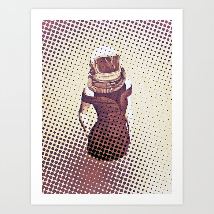 Business Woman Art Print