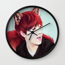 Fox Gyu Wall Clock