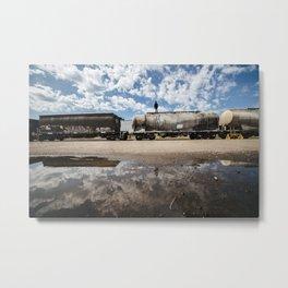 Freight Days Metal Print