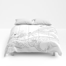 """Chineese """"Lung"""" Dragon Comforters"""