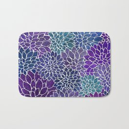 Floral Abstract 22 Bath Mat