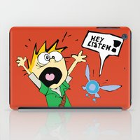 calvin and hobbes iPad Cases featuring Calvin the Timeless Hero by DonCorgi