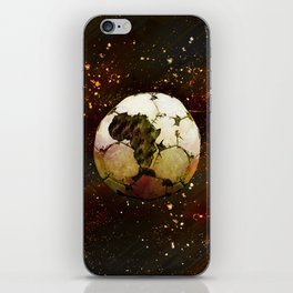 Africa Football iPhone Skin