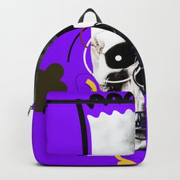 No.1 - Beauty isn't only skin deep /  b-ART - PURPLE Backpack