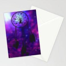 Dreamcatcher (purple) Stationery Cards